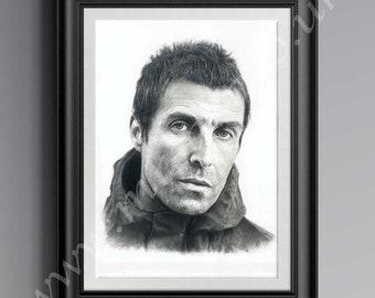 Liam Gallagher Print