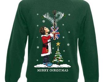 174f9d54ef1c Noel Gallagher Christmas Jumper. MrArtLtd. 5 out of ...