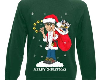 Ian Brown King Monkey Christmas Jumper
