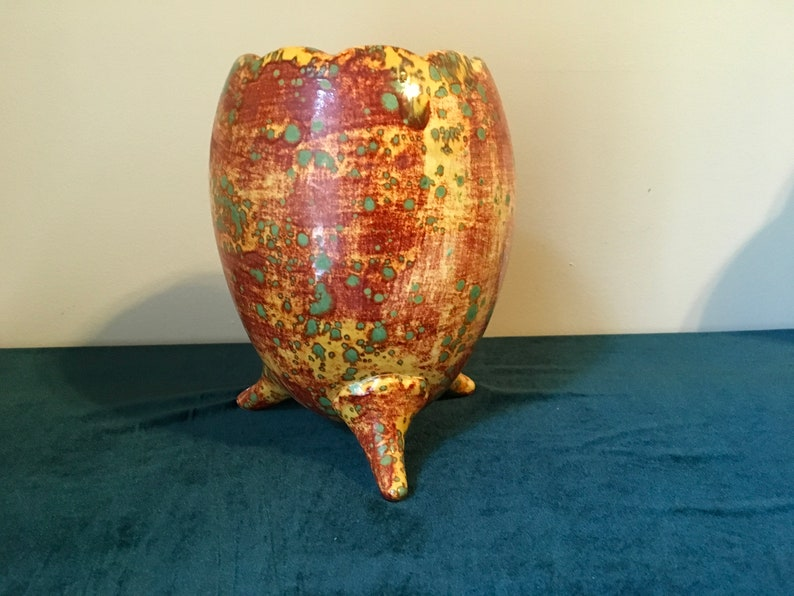 Vintage Gorgeous Handmade Vase Planter