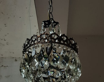 Antique chandelier etsy popular items for antique chandelier aloadofball Image collections