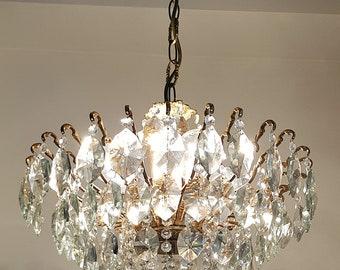 Crystal chandelier etsy aloadofball Images