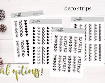 DECO Headers   Heart & Bow Headers   Planner, Journal and Agenda Stickers   Foil Stickers
