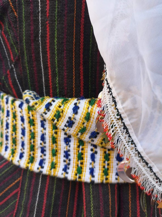 Woman's ethnic costume, traditional folklore cost… - image 10