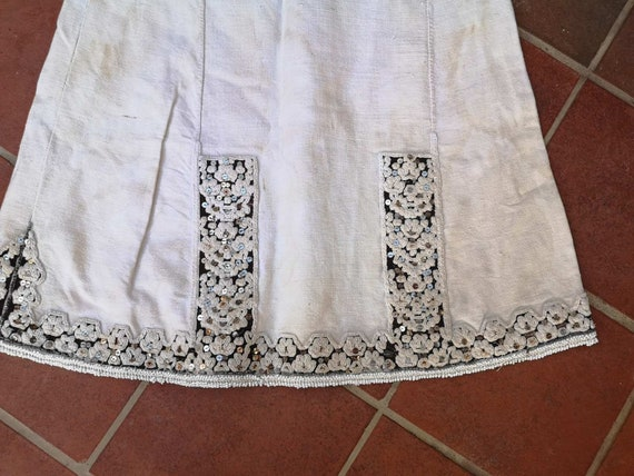 Long antique shirt, ethnic dress from Prilepsko P… - image 2