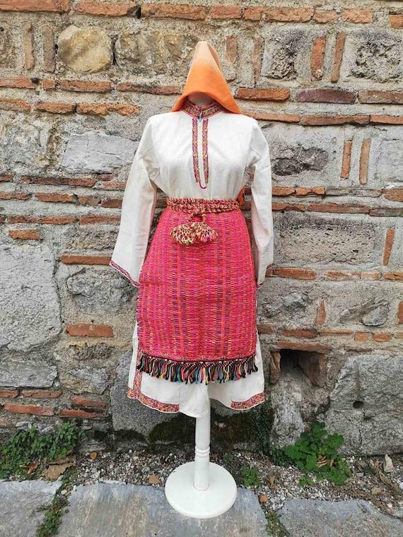 Rare ethnic costume pieces of Juruci ethnic group,