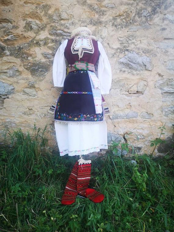 Women's ethnic costume from skopska Blatija, nice
