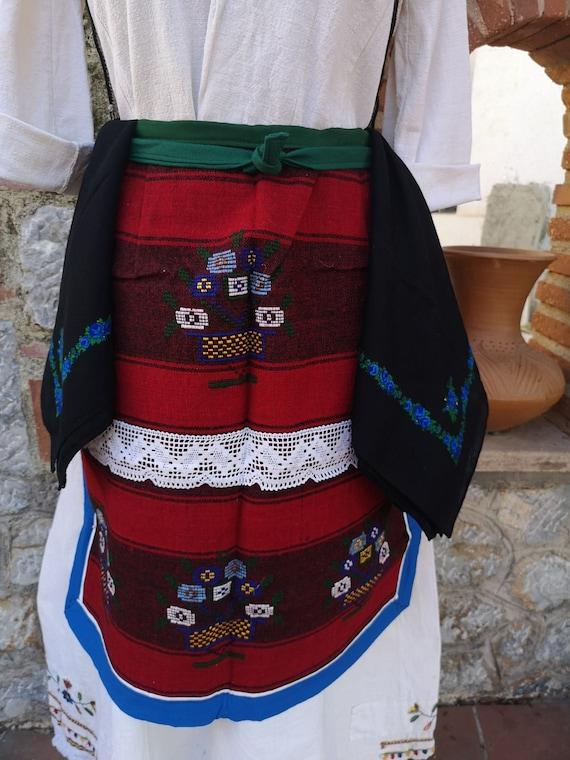 Traditional folklore ethnic women's costume, Kuma… - image 2