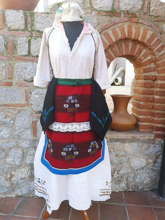 Traditional folklore ethnic women's costume, Kuma… - image 8