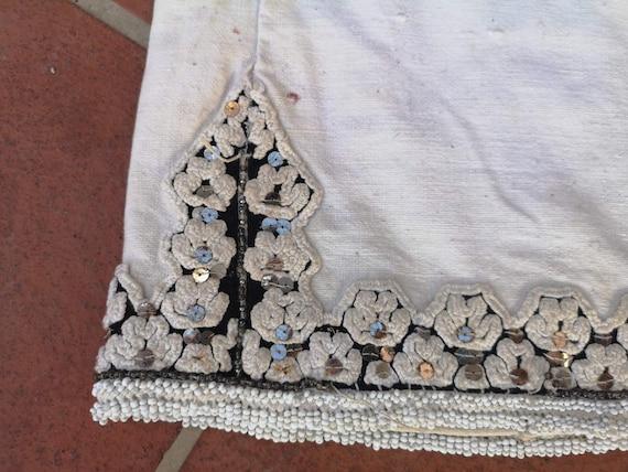Long antique shirt, ethnic dress from Prilepsko P… - image 6