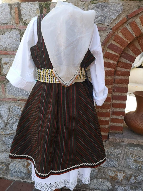 Woman's ethnic costume, traditional folklore cost… - image 5