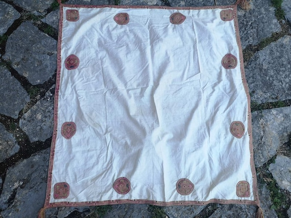 Antique headscarf from Debarsko Pole, headscarf -