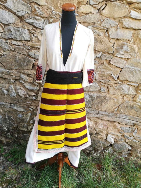 Ethnic clothes from Ohrid, parts of an ethnic wome
