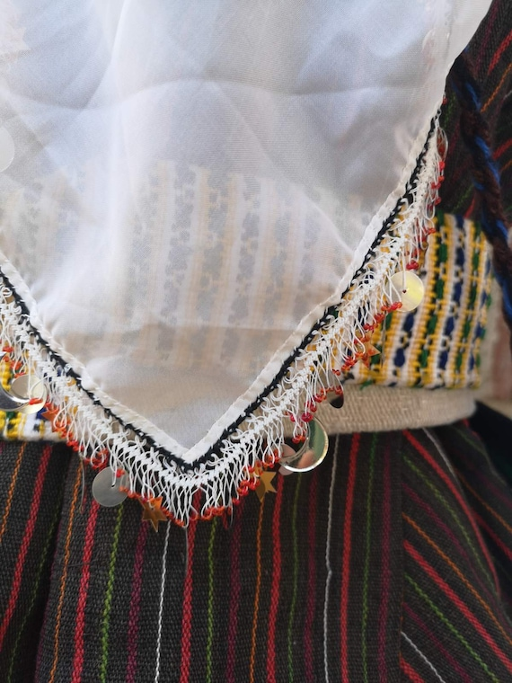 Woman's ethnic costume, traditional folklore cost… - image 4