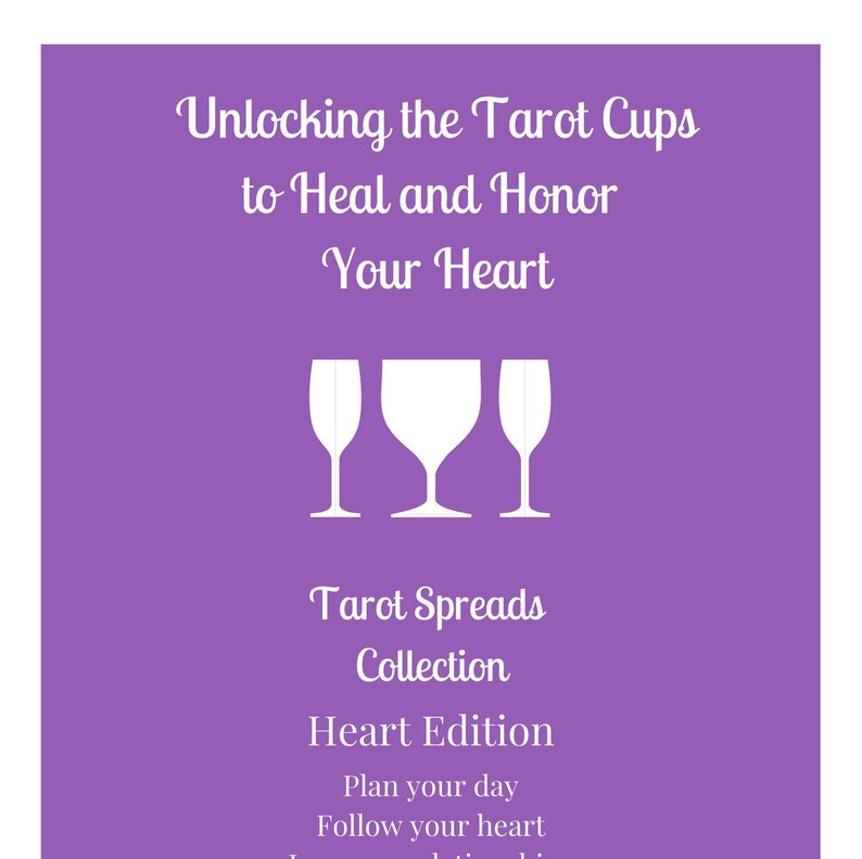 Selection of Specialized Tarot Cups Spreads image 0
