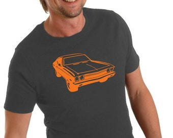 Seventies Car T-Shirt Men