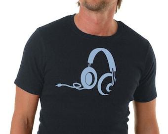 Earphone T-Shirt Men