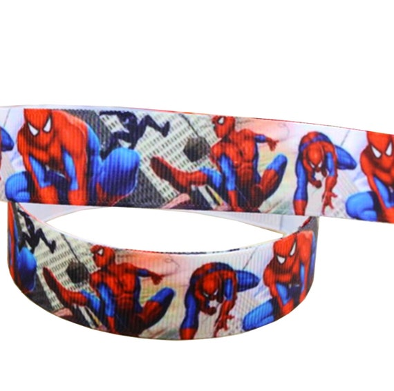 Cake decorating card making crafting *MARVEL SPIDERMAN RIBBON* 22mm presents