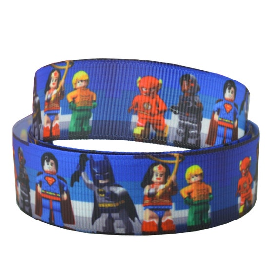 """2m Gift Wrap Etc Marvel Heroes Ribbon 1/"""" Wide For Cakes Crafts"""
