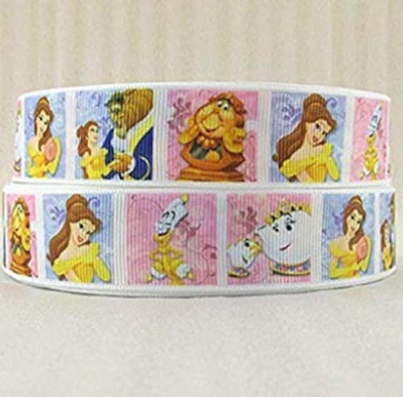 Snow White Disney Princess Character 22mm Grosgrain Ribbon for Card Making /& Bow