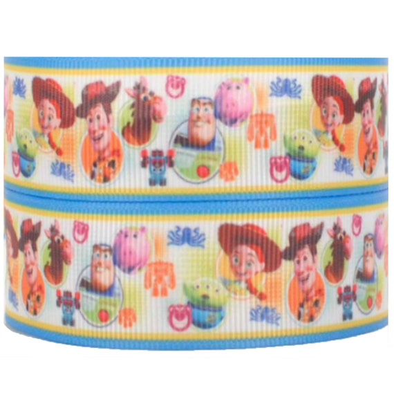 BEAUTY AND THE BEAST CLOSE UP CAKE RIBBON 2M X 22mm CAKE CARD GIFT WRAP CRAFT