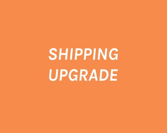 RESERVED/PRIVATE Shipping Upgrade