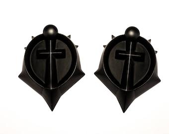Jaina medallions - set of 2 resin casts