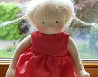 Waldorf doll 32 cm - doll according to Waldorfart