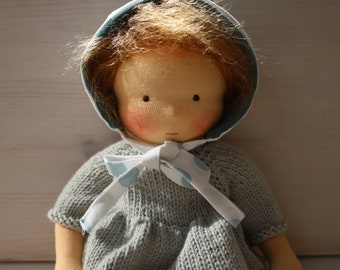 Waldorf baby doll 34 cm