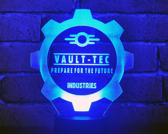 FalloutVAULT TEC LED Lamp changing industriesColors EIHD29