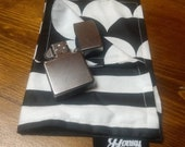 Black and White Hank - Ebony and Ivory Everyday Carry Handkerchief