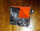 The Hunter Hank (Mossy Oak Camo with Blaze Orange - Everyday Carry Handkerchief)