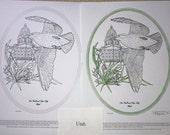 Utah - Black Line Drawing Limited Edition Bundle