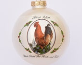 Rhode Island - Art of the States Christmas Ornaments