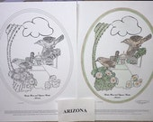 Arizona - Black Line Drawing Limited Edition Bundle