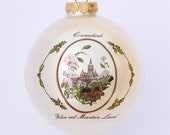 Connecticut - Art of the States Christmas Ornaments