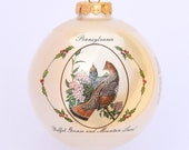Pennsylvania - Art of the States Christmas Ornaments