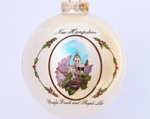 New Hampshire - Art of the States Christmas Ornaments