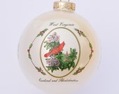 West Virginia - Art of the States Christmas Ornaments