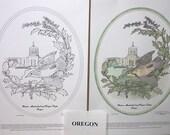 Oregon - Black Line Drawing Limited Edition Bundle