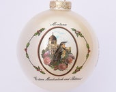 Montana - Art of the States Christmas Ornaments