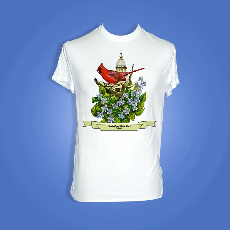Illinois  Art of the State T-Shirts image 0