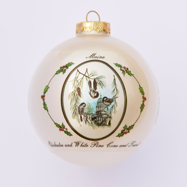 Maine  Art of the States Christmas Ornaments image 0
