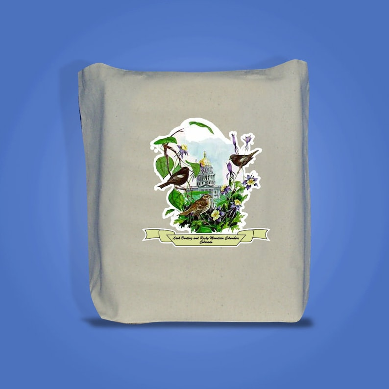 Colorado  Art of the State Totebags  image 0