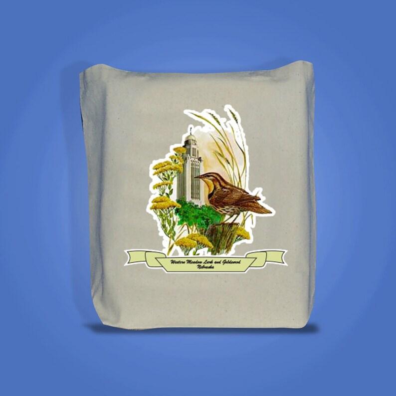 Nebraska  Art of the State Totebags  image 0