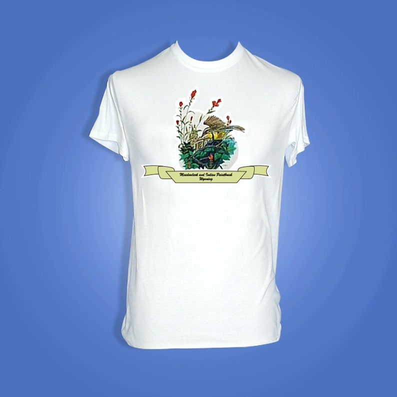 Wyoming  Art of the State T-Shirts image 0