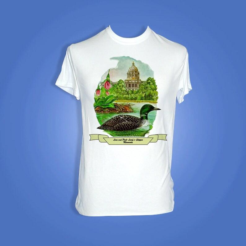 Minnesota  Art of the State T-Shirts image 0