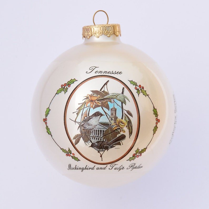 Tennessee  Art of the States Christmas Ornaments image 0