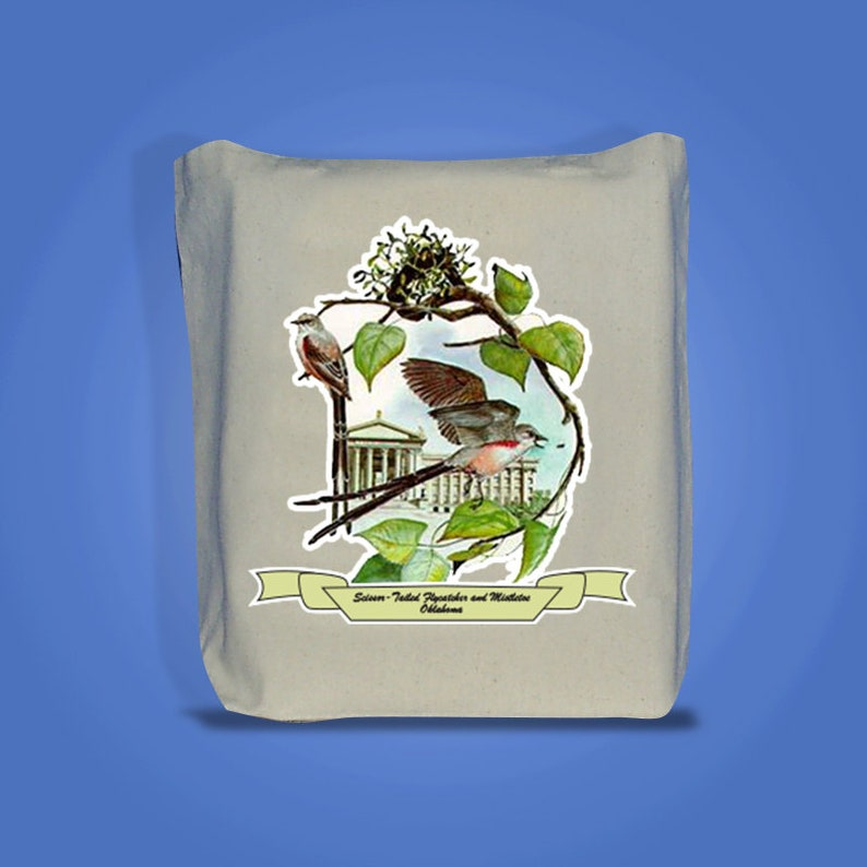 Oklahoma  Art of the State Totebags image 0