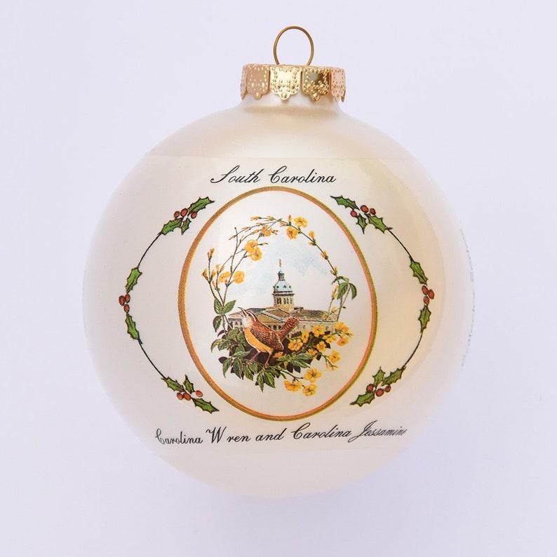 South Carolina  Art of the States Christmas Ornaments image 0